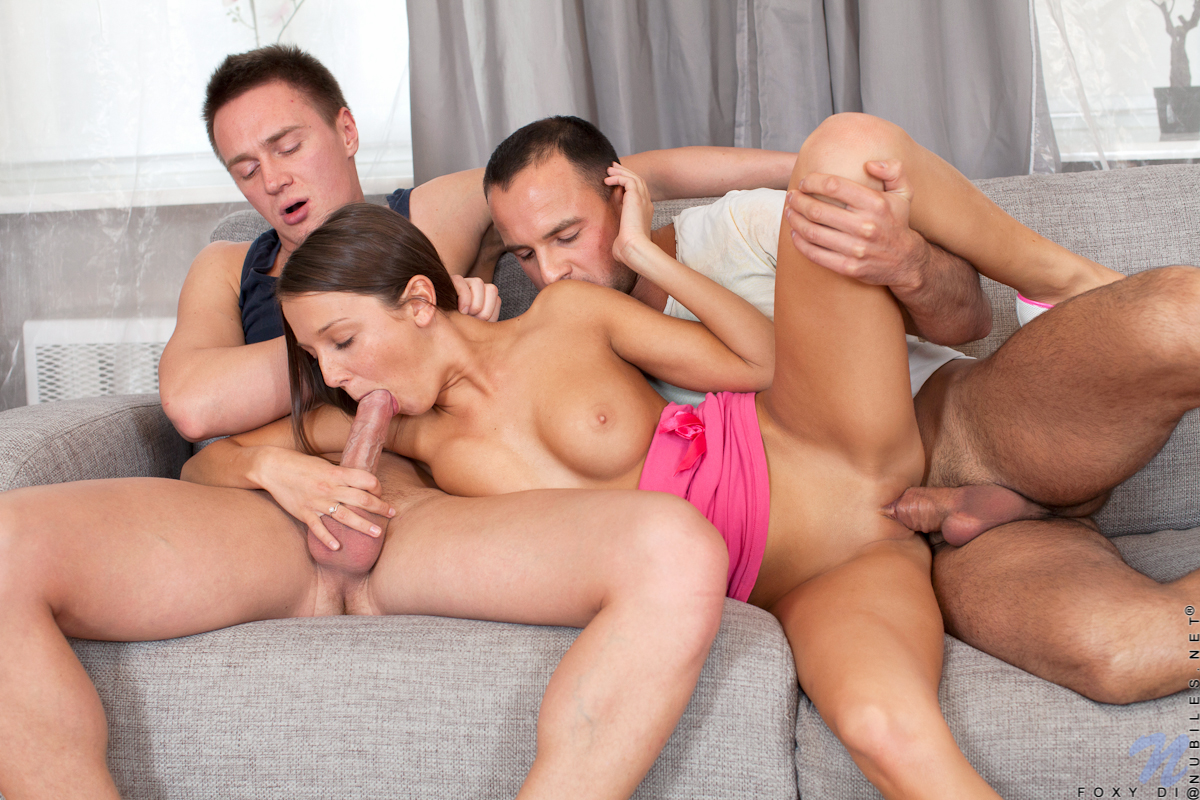 Porn guys threesome two
